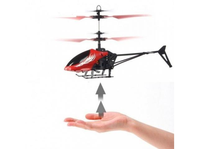 Flying Helicopter with LED Head in BD - 1/1