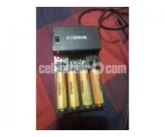rechargeable battery with charger