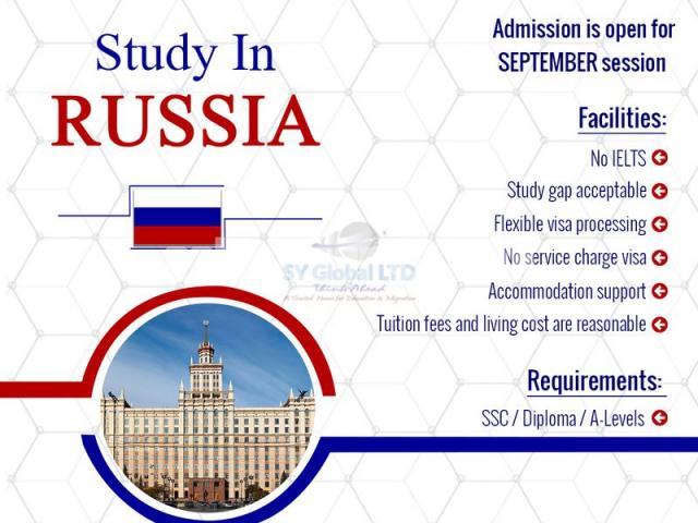 Study in RUSSIA - 1/1