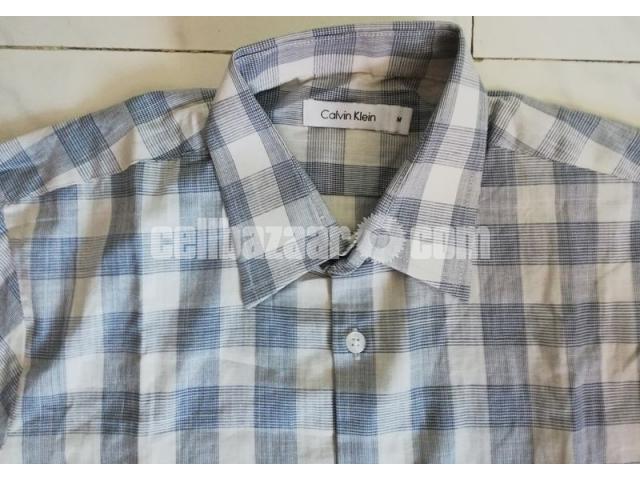 C K Men's Full Sleeve Shirt - 1/5