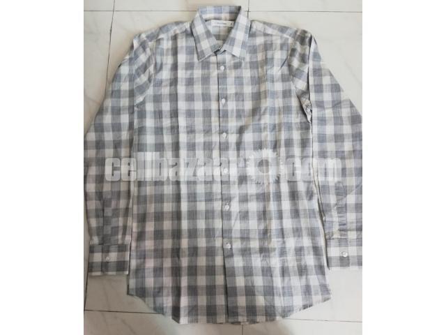 C K Men's Full Sleeve Shirt - 2/5