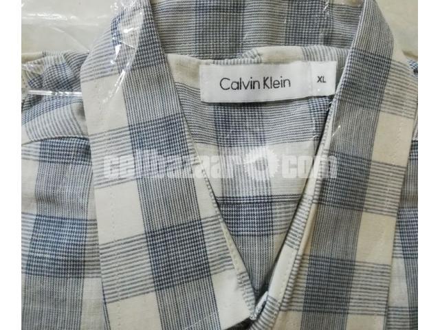 C K Men's Full Sleeve Shirt - 5/5