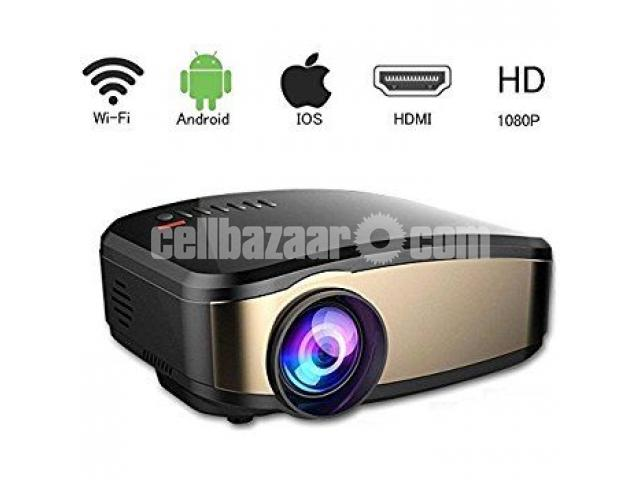 Cheerlux C6 14 Home Entertainment 1200 Lumens Mini Projector - 1/1