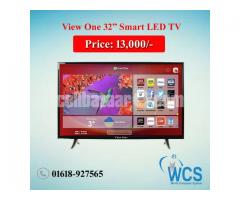 "View One 32"" Smart LED Tv"