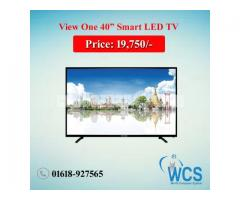 "View One 40"" Led smart TV"
