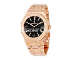 Replica AP Watch, Audemars Piguet Royal Oak Selfwinding Rose Black Watch