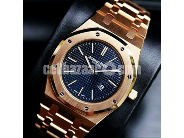 Audemars Piguet Royal Oak Replica Rose Gold Watch - 1/1