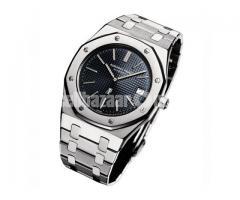 Audemars Piguet Royal Oak Silver Black Watch