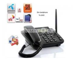 Huawei ETS3125i GSM FM Radio Landline Telephone intact