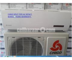 Chigo 1 Ton Split Type AC,3 yrs warrenty !!!!!!