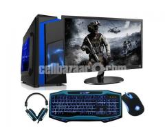 "GAMING CORE 2DU 6MB CASH with 17""LED"