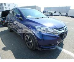 HONDA VEZEL Z HYBRID ELECTRIC BLUE 2014