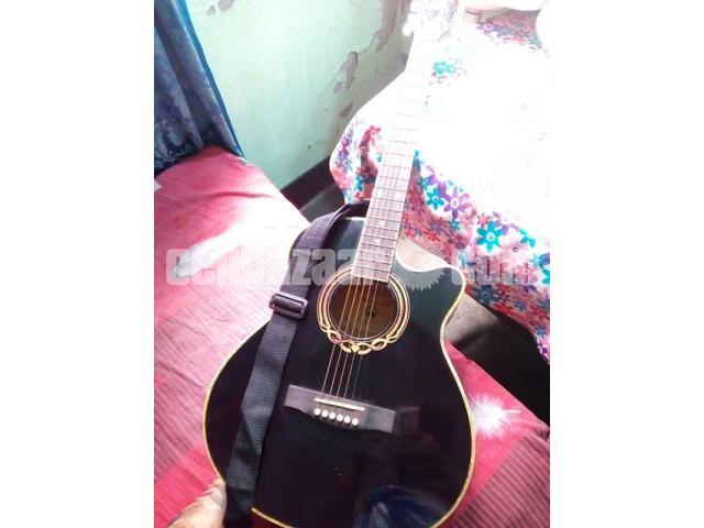 Rockstar Acoustic Guiter New - 3/3