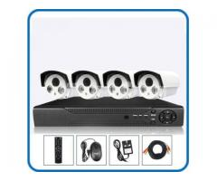 4pcs CCTV HD Camera package (Full Night vision)