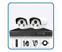2 pcs IP CCTV Night Vision Camera package