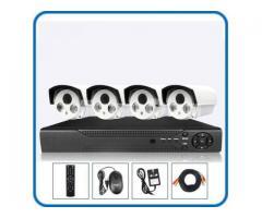 4 pcs IP CCTV Night vision Camera package
