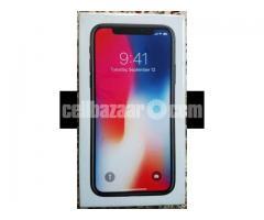 Apple Iphone X 256 Intact Box Original