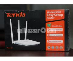 Tenda 300 Mbps WIFI Router 1year Warranty