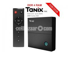 Tanix TX92 Amlogic S912 DDR4 3G 32G Octa Core Tv box iptv dual wifi chromecast satellite receiver fr