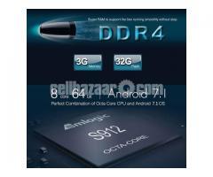 Tanix TX92 Amlogic S912 DDR4 3G 32G Octa Core Tv box iptv dual wifi chromecast satellite receiver fr