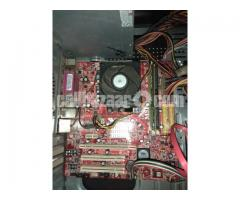 Msi motherboard with amd processor&ram