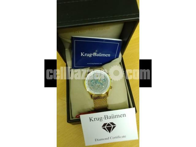 Brand New Krug-Baumen Watch Men - 2/5