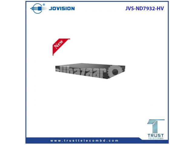 JOVISION 4K REGULATION 32CH NVR JVS-ND7932-HV - 1/1