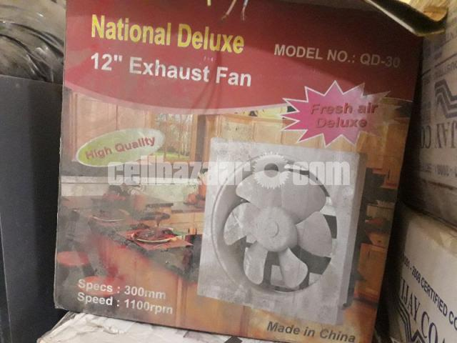 National deluxe fan - 1/2