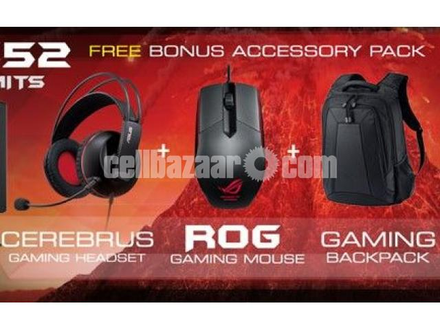 ASUS ROG GL502VM 7th Gen Intel Core i7 7700HQ + 16GB RAM + GTX 1060, 6GB VRAM - 4/4