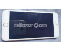 Apple i phone 6 plus 64GB White Gold