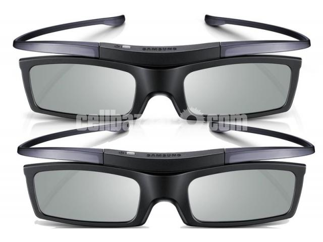 2pis Samsung 3d glass for all Samsung 3d TV  all SONY W800C & D Series - 3/4