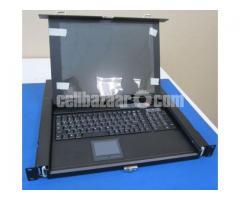 KVM LCD 1501A 1U Switch - Image 1/3