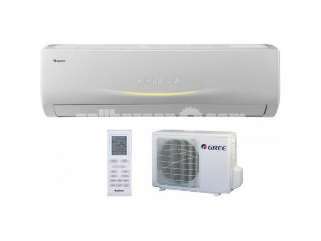 Gree GS-18VITH1 1.5 Ton Heat & Cool Split AC - 1/4