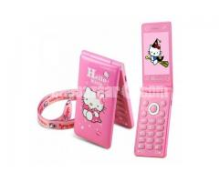 Hello Kitty D10 Dual SIM Touch Display Folding Phone