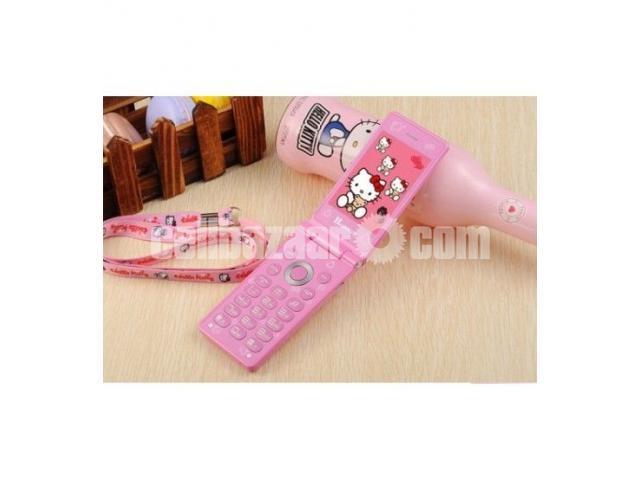 Hello Kitty D10 Dual SIM Touch Display Folding Phone - 2/2
