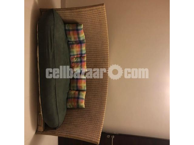Hand Made Cane Sofa (Three Sitter) - 1/3
