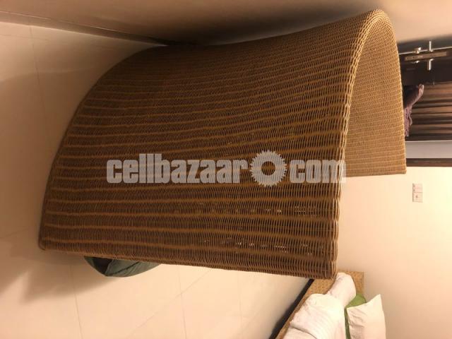 Hand Made Cane Sofa (Three Sitter) - 3/3