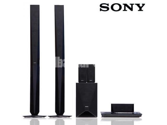Sony BDV-E4100 3D blu-ray theater system has 5.1 channel - 1/2