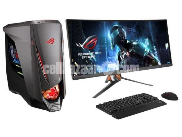 "Gaming PC@_ i3 3rd Gen 4GB 1Tb 17"" Led - 1/2"