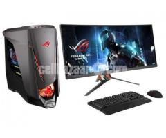"Gaming PC@_ i3 3rd Gen 4GB 1Tb 17"" Led - Image 1/2"