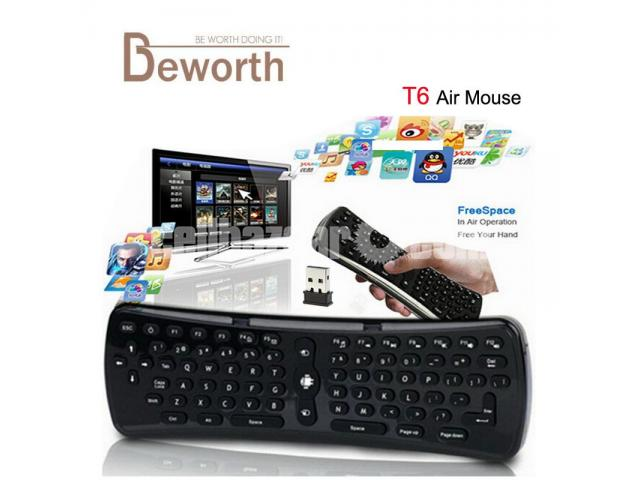 Remote Control Air Mouse Wireless Keyboard - 1/4