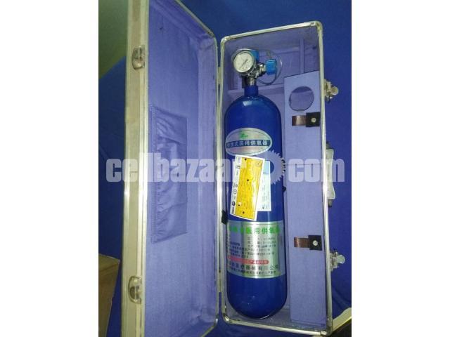 Medical Oxygen Cylinder Rent Sell At Home Delivery Setup - 2/3