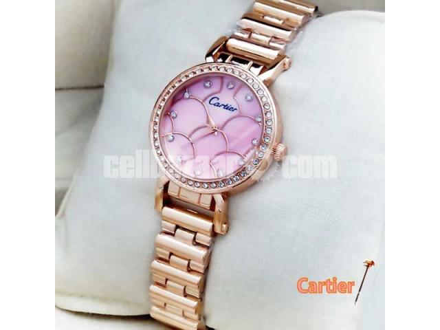 Cartier Pink Womens Wrist Watch - 1/1