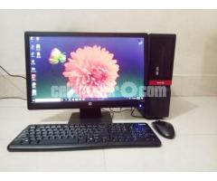 Intel Desktop core_i5 & 21'' LED Hp