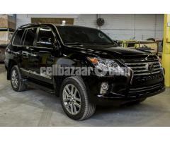 2018 B6 Armored Lexus LX 570