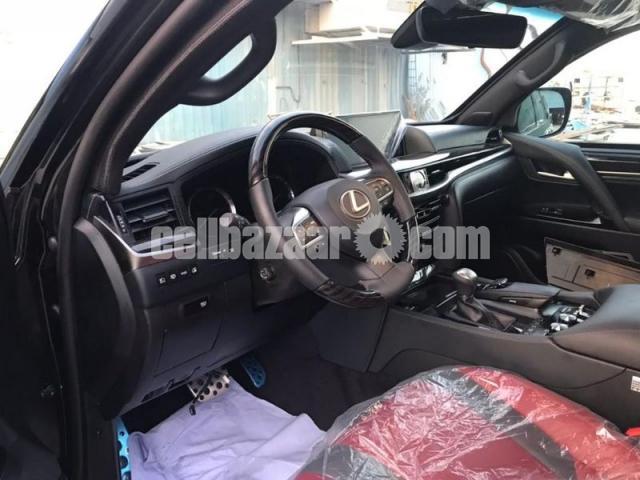 2018 B6 Armored Lexus LX 570 - 4/5
