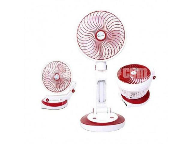 Supermoon Rechargable Fan with Light@01618657070 - 1/4