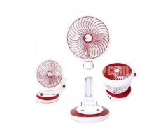Supermoon Rechargable Fan with Light@01618657070 - Image 1/4