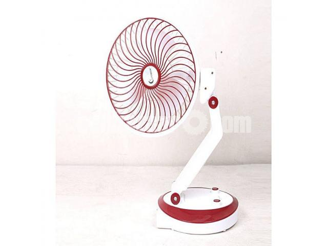 Supermoon Rechargable Fan with Light@01618657070 - 3/4