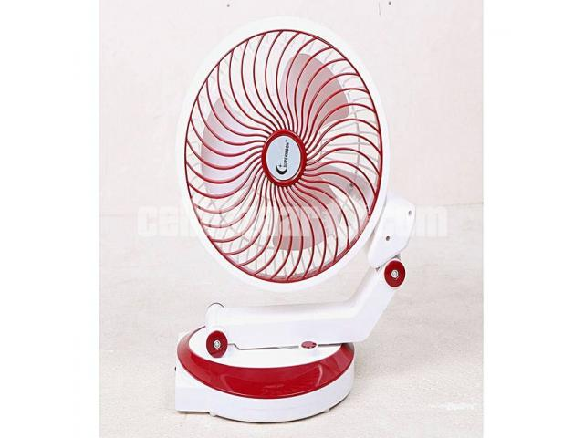 Supermoon Rechargable Fan with Light@01618657070 - 4/4